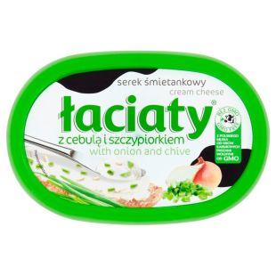 Laciaty Крем сыр сливочный, с луком, 135 г