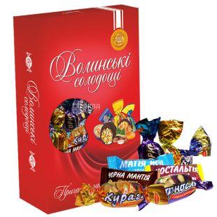 Волинські Солодощі, Святковий, набір цукерок, 500 г