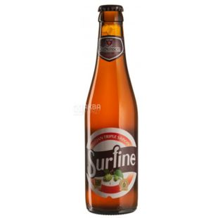 Beer light unfiltered Surfine, 0.33 L, TM Dubuisson