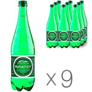 Ричал-Су, 1 л, Упаковка 9 шт., Вода мінеральна газована, ПЕТ