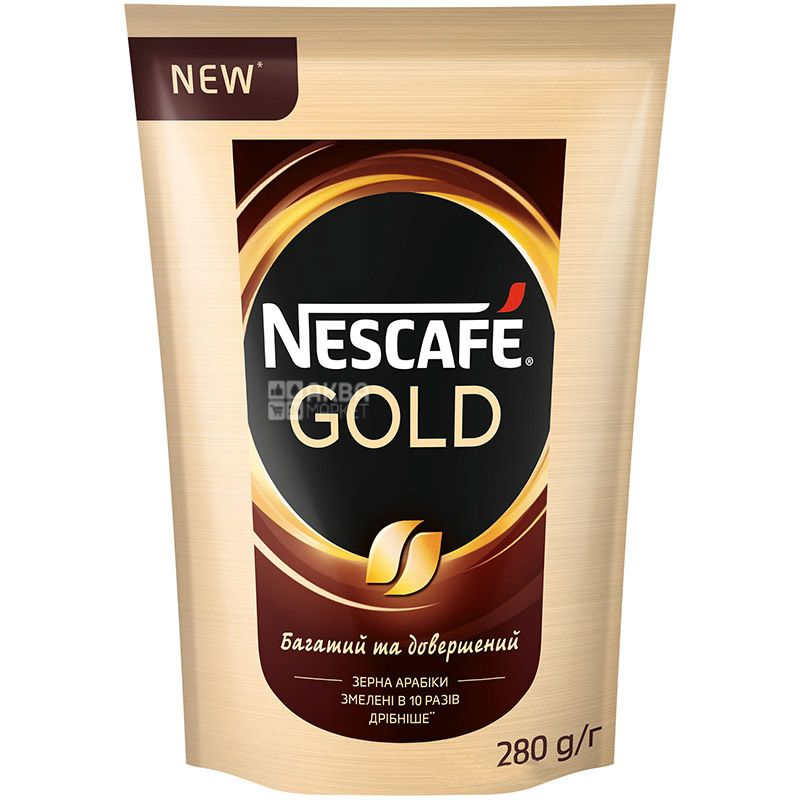 Nescafe Gold, Кофе растворимый, 280 г