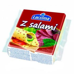 Lactima Salami, Сыр тостовый, 130 г