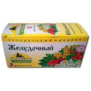 Карпатская лечебница, Желудочный, 25 пак., Фиточай