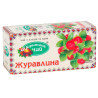 Carpathian tea, Cranberry, 20 pcs., Tea from fruits and herbs