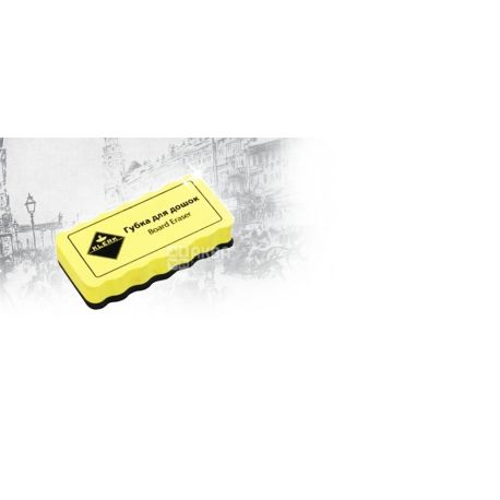 Klerk, 105х55х20 мм, губка для досок, Магнитная, м/у