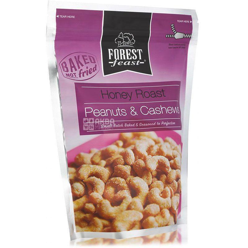 Forest Feast, Смесь арахиса и кешью в медовой глазури 250 г