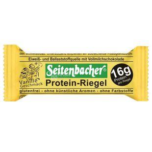 Protein-Riegel Vanille protein baton with vanilla, 60 g, TM Seitenbacher