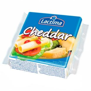 Lactima Cheddar, Toast Cheese, 130 g