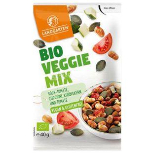 A mixture of vegan organic Bio Veggie Mix, 40 g, TM Landgarten