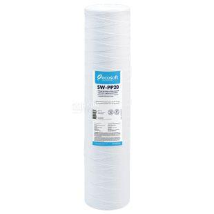 Ecosoft, 20 µm Polypropylene Foam Cartridge, 4.5 * 20