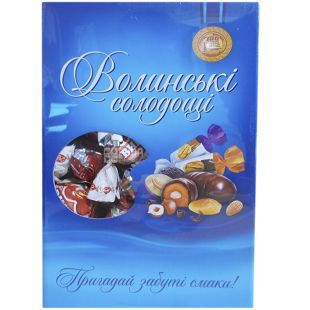 Volyn Sweets, Cherry with Apricot Stone in chocolate, sweets, 500 g