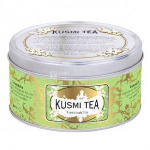 Kusmi Tea, Genmaicha, 100 г, Чай зеленый Кусми Ти, Генмайча, ж/б