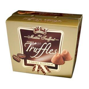 Конфеты Трюфель с какао, 200 г, ТМ Maitre Truffout