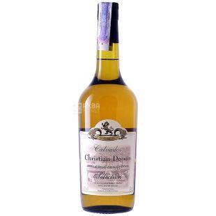 Calvados, Calvados Selection Coeur de Lion, 700 ml, HM Christian Drouin