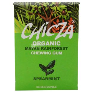 Organic Chewing Gum Sweet Mint, 30 g, TM Chicza