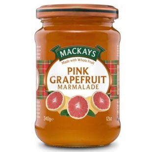 Конфітюр Рожевий грейпфрут, 340 г, ТМ Mackays