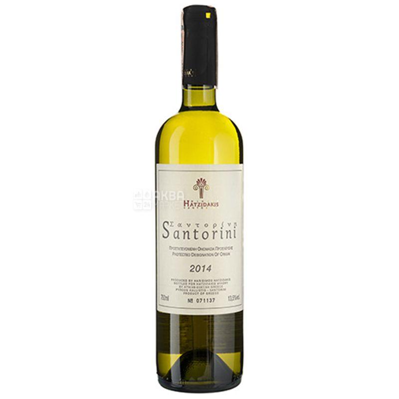Hatzidakis Winery, Santorini, Белое сухое вино, 0,75 л