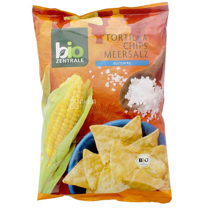 Тортилії органічні з морською сіллю, 125г, ТМ Bio Zentrale
