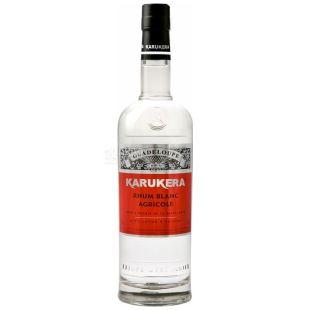 Karukera Rhum, Rum, Blanc Agricole, 700 ml