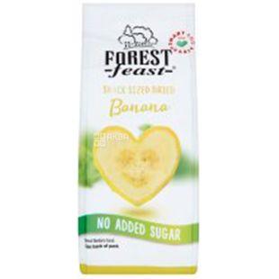 Forest Feast Банановые сердечки сушеные, 80 г
