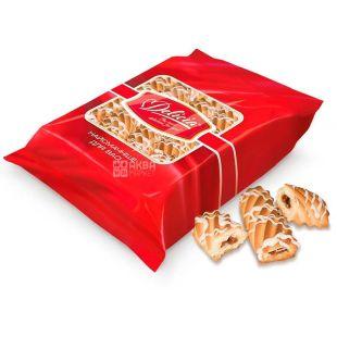 Delicia Печиво здобне Супер-Моніка з білим декором, 500 г