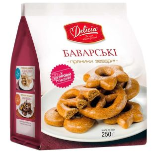 Delicia Bavarian Gingerbread with Sugar Icing, 250 g