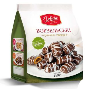 Delicia Vorzel Gingerbread with decor, 250 g