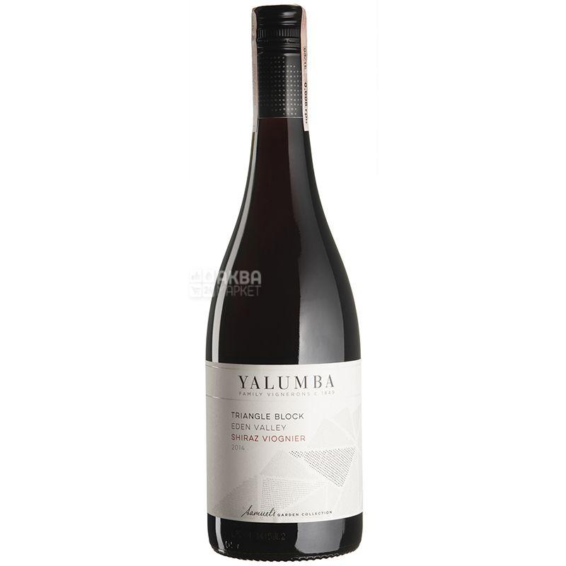 Yalumba, Вино красное сухое, Triangle Block Shiraz Viognier 2014, 0,75 л