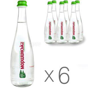 Моршинская, Вода слабогазированная, 0,75 л, упаковка 6 шт.