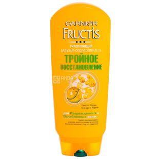 Garnier Fructis, Бальзам для пошкодженого волосся, відновлення і блиск, 200 мл