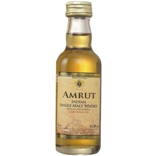 Amrut Cask Strength Віскі в тубі, 61,8%, 0,05 л