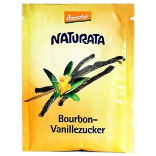 Naturata Bourbon Vanillezucker, Сахар ванильный, 8 г