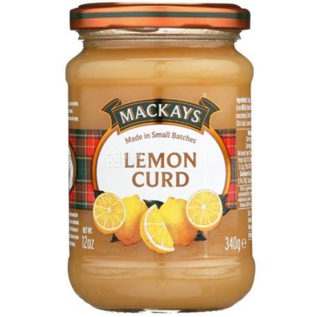 Mackays, Лимонный курд, 340 г