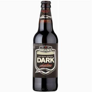 Brains Dark, Пиво темное, 0,5 л