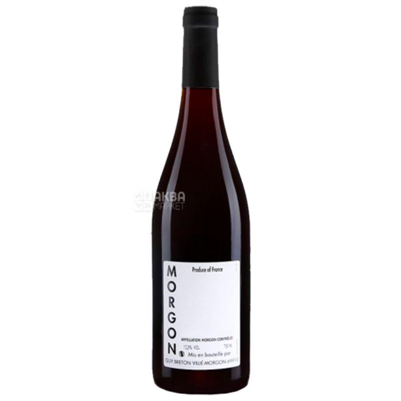Guy Breton, Вино красное сухое, Morgon 2016, 0,75 л