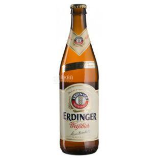 Erdinger Weissbier, Пиво светлое нефильтрованное, 0,5 л