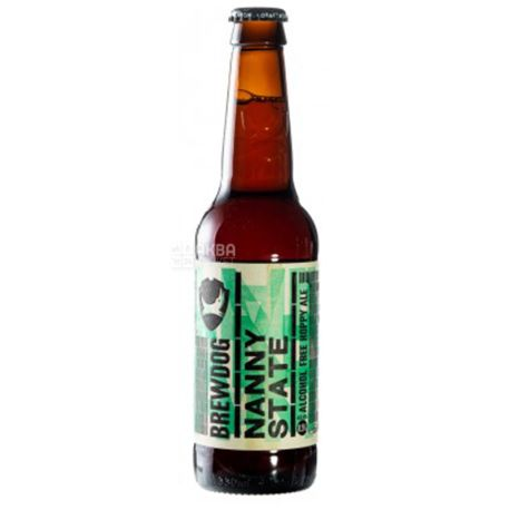 BrewDog Nanny State, Light non-alcoholic beer, 0.33 l
