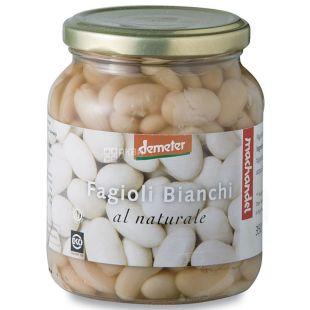 Machandel Квасоля біла органічна консервована, 350 г