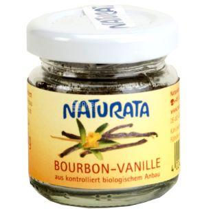 Naturata, Bourbon, Ваниль молотая органическая, Бурбон, 10 г
