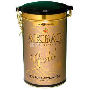 Akbar Gold, Чай чорний листовий, 450 г
