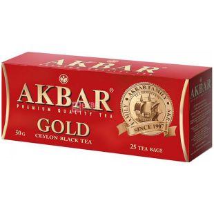 Akbar Gold, Чай черный, 25 пак