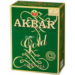 Akbar Green Gold, 100 г, Чай зеленый Акбар Грин Голд