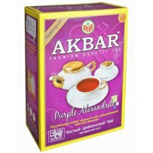 Akbar Purple Alexandrite, Чай черный листовой, 100 г