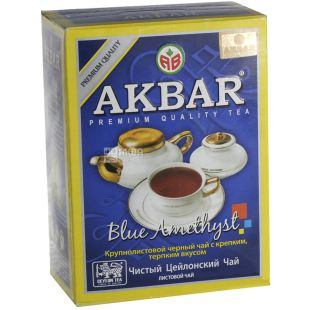Akbar Blue Amethyst, 100 г, Чай черный Акбар Блю Аметист