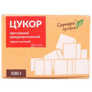 Саркара, Сахар белый кристалический, прессованный, 500 г
