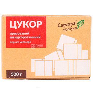 Sarkara, white crystalline sugar, pressed, 500 g