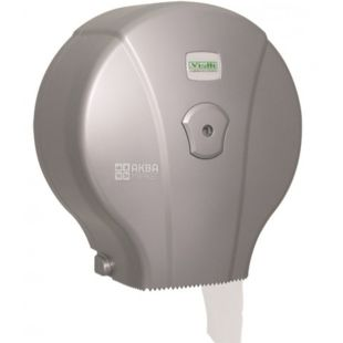 Vialli, Держатель туалетной бумаги, сатиновый, 240*130*260 мм