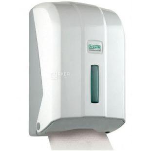 Vialli, Toilet roll holder, white, 120 * 135 * 225 mm