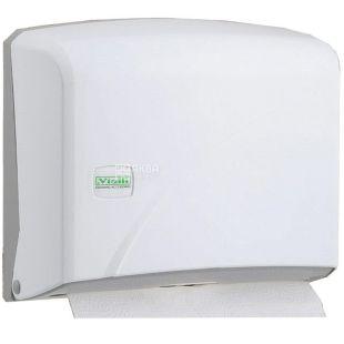 Vialli, Paper towel holder, Z-folding, white, 225 * 245 * 95 mm