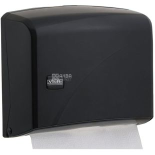 Vialli, Holder paper towels Z-folding, black, 225 * 95 * 275 mm